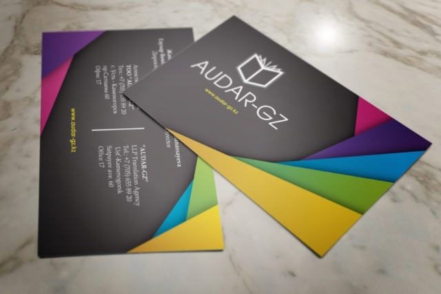 Разработка визитки, изготовление визитки, премиум визитка