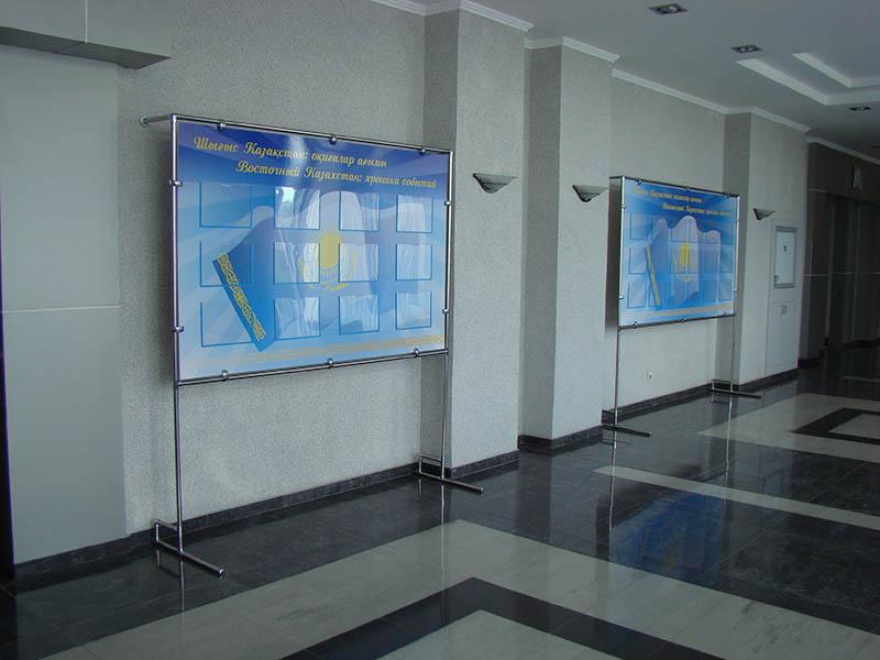 Стенды из хромтрубы изготовление в Усть-Каменогорске