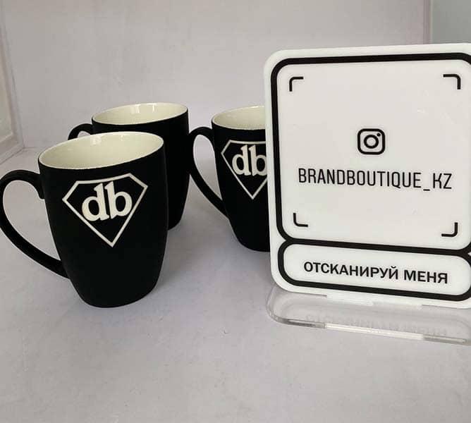 Нанесение логотипа на кружку Усть-Каменогорск